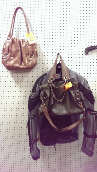 Find designer purses and great coats and jackets today!