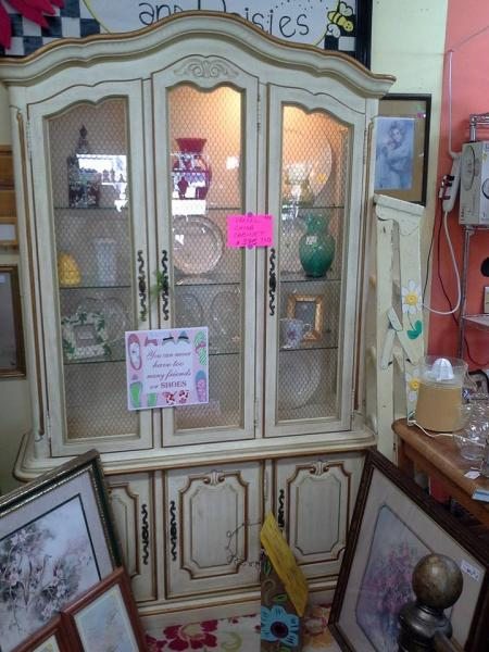 [Image: Display your fine china in this lovely hutch! ]
