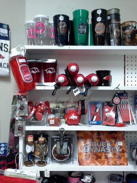 [Image: Find a variety of cups, bobble heads, water bottles and more inspired by your favorite TV shows. ]
