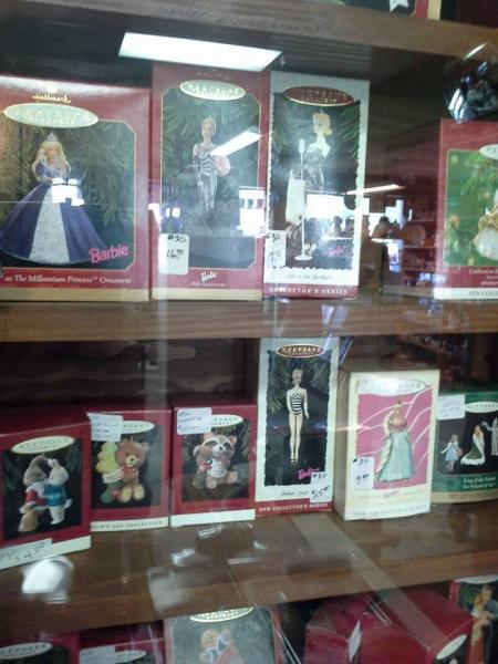 Are you a collector of Barbie dolls? Good! Because we have them!