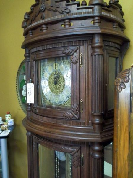 [Image: This eye-catching clock will become a signature piece for any room.]