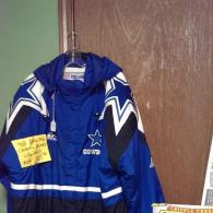 Blue & White Dallas Cowboy Jacket